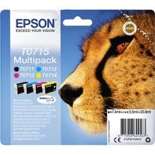 Epson Tintenpatrone C13T07154012 sw/c/m/y 4 St./Pack.