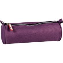 Schlamper-Etui rund purple