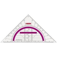 Geometrie-Dreieck 16cm Griff pink