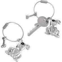 TROIKA Schlüsselanhänger PETE Hund mit Knochen