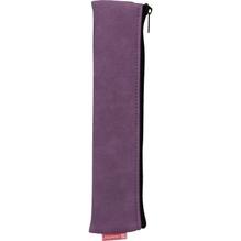 Schlamper-Etui mit Gummiband purple