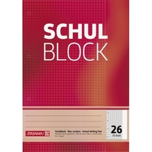 Schulblock A4 Lin26 50Bl
