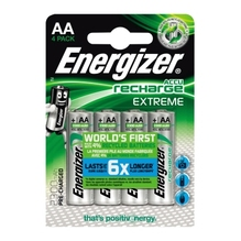 Energizer Akku Recharge Extreme E300624600 AA/HR6 4 St./Pack.
