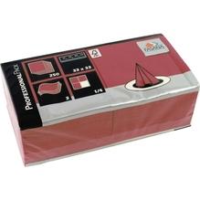 FASANA Serviette 217743 33x33cm 3lagig bordeaux 250 St./Pack.