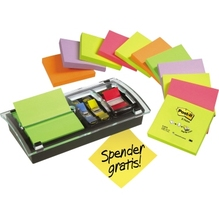 POST-IT Z-Notes DS100-VP 12xR330+1x680+Acryl Spender gratis