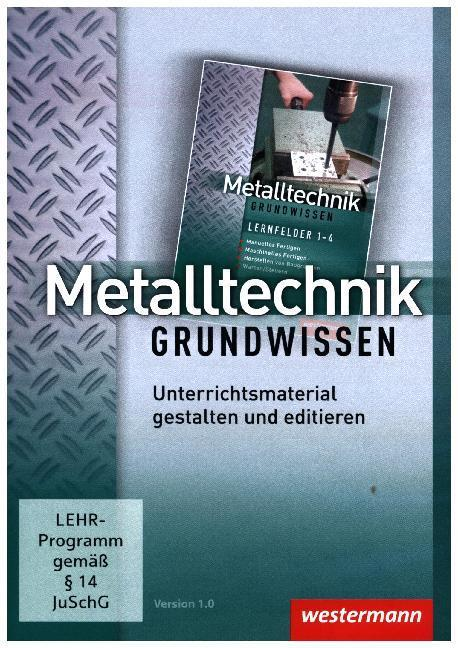 Metalltechnik Grundwissen, CD-ROM