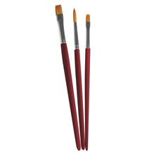 Pinselset Art,sortiert, FSC 100%, Synthetik kurzstielig, SB-Btl 3Stück