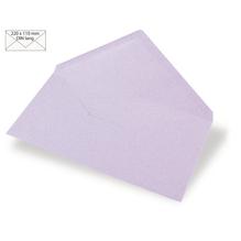 Kuvert DIN Lang, uni, FSC Mix Credit, 220x110mm, 90g/m2, Beutel 5Stück, lavendel
