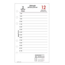bind Tagesplan System B260318 Kalenderein. 2018 DIN A6 1T/1S weiß