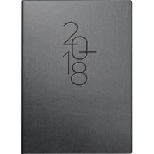 BRUNNEN Taschenkalender 107316802 10x14cm titanium