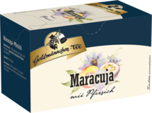 Goldmännchen Tee Früchtetee Maracuja mit Pfirsich