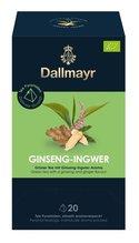 Dallmayr Pyramidenbeutel Grüner Tee mit Ginseng Ingwer