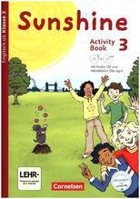 3. Schuljahr, Activity Book mit interaktiven Übungen, CD-ROM u. Audio-CD
