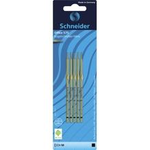 Schneider Kugelschreibermine 575 M 77611 schwarz 5 St./Pack.