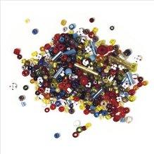 Glasperlen, bunt gemischt, 25g (EUR 6,76/100 g)