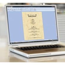 Sigel Marmorpapier DP372 DIN A4 90g beige 100 Bl./Pack.