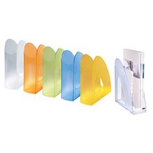 HAN Stehsammler TWIN SIGNAL 1611-69 DIN A4/C4 transluzent grau