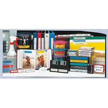 P-touch Schriftbandkassette TZE535 12mmx8m laminiert ws auf bl