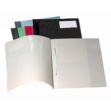 DURABLE Schnellhefter 250001 DIN A4 Polyethylen schwarz