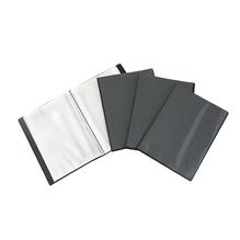Sichtbuch DIN A4 20Hüllen Polypropylen schwarz