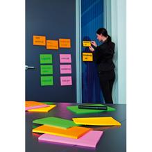 Post-it Haftnotiz Super Sticky Meeting Notes 6445-4SS 4 St./Pack.