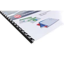 GBC Plastikbinderücken 4028215 DIN A4 10mm rot 100 St./Pack.