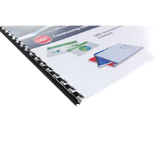 GBC Plastikbinderücken 4028198 DIN A4 14mm weiß 100 St./Pack.
