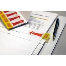 Info Haftstreifen SIGN HERE 5670-06 Transparentpapier 4x40 St./Pack.