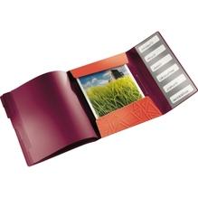 Leitz Ordnungsmappe Urban Chic 39490024 DIN A4 6Fächer rot