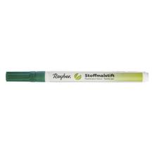 Stoffmalstifte,  Feine Spitze, d.grün
