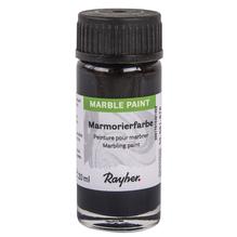 Marble Paint, Marmorierfarbe, Glas 20ml, schwarz