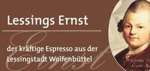 Espresso 'Lessings Ernst' - Der kräftige Espresso aus  der Lessingstadt Wolfenbüttel