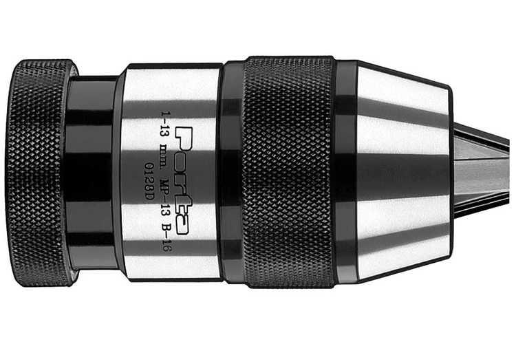 Industrie-Schnellspannbohrfutter... SSB08, Ø 1,5 - 13 mm / B16   A, 40,5 B, 85,0 C, 93,0