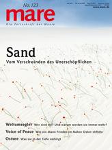 mare - Die Zeitschrift der Meere / No. 123 / Sand