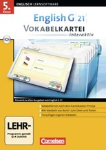 5. Klasse, Vokabelkartei interaktiv, CD-ROM