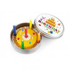 Happy Birthday Kerze groß
