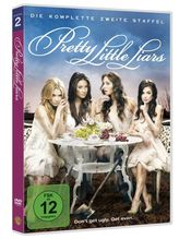 Pretty Little Liars. Staffel.2, 6 DVDs