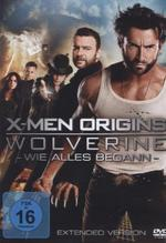 X-Men Origins: Wolverine, 1 DVD