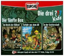 Die drei ???-Kids - Die 5. Box. Box.5, 3 Audio-CDs | Blanck, Ulf