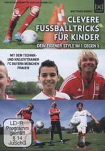 Clevere Fußballtricks für Kinder, 1 DVD