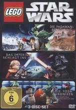 Lego Star Wars: Die Padawan Bedrohung / Das Imperium schlägt ins Aus / Die Yoda Chroniken, 3 DVDs