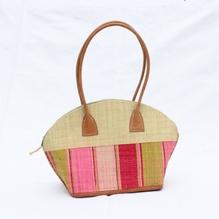 Bast-Handtasche 'Bako' natur