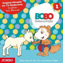 Die ersten Abenteuer von Bobo Siebenschläfer. Tl.1, Audio-CD | Osterwalder, Markus