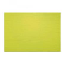 Leder-Tischset 'lime' (limonengrün)