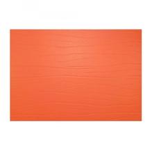 Leder-Tischset 'tangerine' (mandarin)