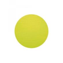 Leder-Untersetzer 'lime', rund, 20cm  (limonengrün)