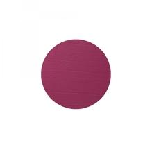 Leder-Untersetzer 'red wine', rund, 10cm  (dunkelrot)