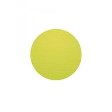 Leder-Untersetzer 'lime', rund, 10cm  (limonengrün)