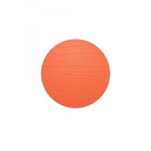 Leder-Untersetzer 'tangerine', rund, 10cm  (mandarin)