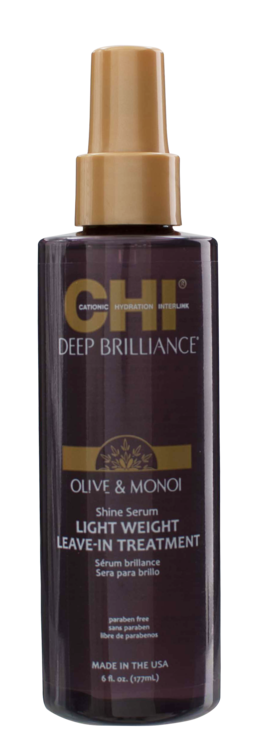 CHI Deep Brillance Leave-In Shine Serum, 177ml